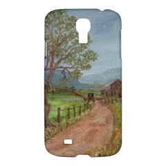 Amish Buggy Going Home  by Ave Hurley of ArtRevu ~ Samsung Galaxy S4 I9500/I9505 Hardshell Case