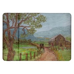 Amish Buggy Going Home  by Ave Hurley of ArtRevu ~ Samsung Galaxy Tab 8.9  P7300 Flip Case