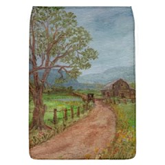 Amish Buggy Going Home  by Ave Hurley of ArtRevu ~ Removable Flap Cover (L)