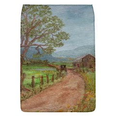 Amish Buggy Going Home  by Ave Hurley of ArtRevu ~ Removable Flap Cover (S)