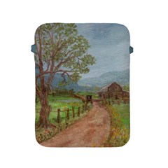 Amish Buggy Going Home  by Ave Hurley of ArtRevu ~ Apple iPad 2/3/4 Protective Soft Case