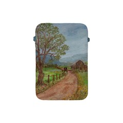 amish Buggy Going Home  By Ave Hurley Of Artrevu   Apple Ipad Mini Protective Soft Case
