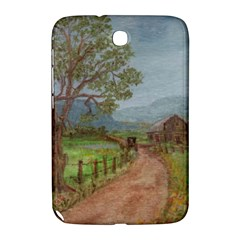 Amish Buggy Going Home  by Ave Hurley of ArtRevu ~ Samsung Galaxy Note 8.0 N5100 Hardshell Case