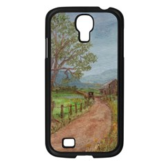 amish Buggy Going Home  By Ave Hurley Of Artrevu   Samsung Galaxy S4 I9500/ I9505 Case (black)