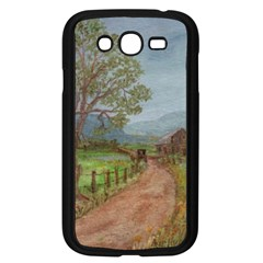 Amish Buggy Going Home  by Ave Hurley of ArtRevu ~ Samsung Galaxy Grand DUOS I9082 Case (Black)