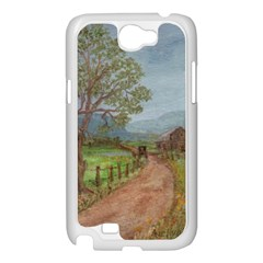 Amish Buggy Going Home  by Ave Hurley of ArtRevu ~ Samsung Galaxy Note 2 Case (White)