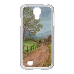 amish Buggy Going Home  By Ave Hurley Of Artrevu   Samsung Galaxy S4 I9500/ I9505 Case (white)