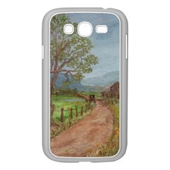 amish Buggy Going Home  By Ave Hurley Of Artrevu   Samsung Galaxy Grand Duos I9082 Case (white)