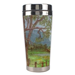 amish Buggy Going Home  By Ave Hurley Of Artrevu   Stainless Steel Travel Tumbler