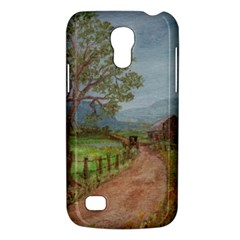 Amish Buggy Going Home  by Ave Hurley of ArtRevu ~ Samsung Galaxy S4 Mini (GT-I9190) Hardshell Case