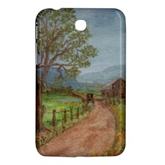 Amish Buggy Going Home  by Ave Hurley of ArtRevu ~ Samsung Galaxy Tab 3 (7 ) P3200 Hardshell Case