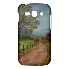 Amish Buggy Going Home  by Ave Hurley of ArtRevu ~ Samsung Galaxy Ace 3 S7272 Hardshell Case