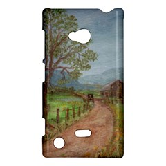 Amish Buggy Going Home  by Ave Hurley of ArtRevu ~ Nokia Lumia 720 Hardshell Case