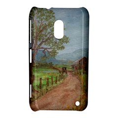 Amish Buggy Going Home  by Ave Hurley of ArtRevu ~ Nokia Lumia 620 Hardshell Case