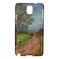Amish Buggy Going Home  by Ave Hurley of ArtRevu ~ Samsung Galaxy Note 3 N9005 Hardshell Case