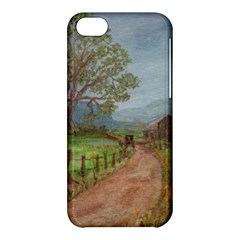amish Buggy Going Home  By Ave Hurley Of Artrevu   Apple Iphone 5c Hardshell Case