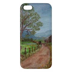 amish Buggy Going Home  By Ave Hurley Of Artrevu   Iphone 5s/ Se Premium Hardshell Case