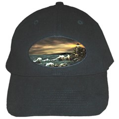 Bridget s Lighthouse   by Ave Hurley of ArtRevu ~ Black Cap