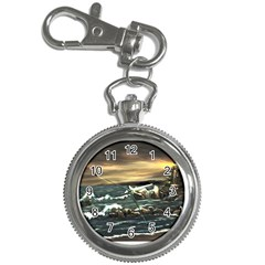 Bridget s Lighthouse   by Ave Hurley of ArtRevu ~ Key Chain Watch