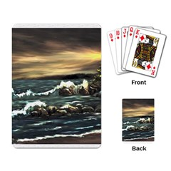 Bridget s Lighthouse   by Ave Hurley of ArtRevu ~ Playing Cards Single Design