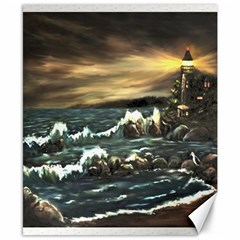 Bridget s Lighthouse   by Ave Hurley of ArtRevu ~ Canvas 8  x 10