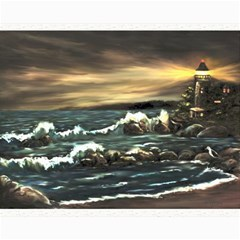 Bridget s Lighthouse   by Ave Hurley of ArtRevu ~ Canvas 16  x 20