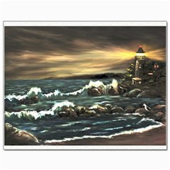 Bridget s Lighthouse   by Ave Hurley of ArtRevu ~ Canvas 11  x 14
