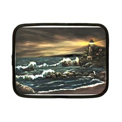 Bridget s Lighthouse   by Ave Hurley of ArtRevu ~ Netbook Case (Small)