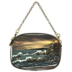 Bridget s Lighthouse   by Ave Hurley of ArtRevu ~ Chain Purse (One Side)