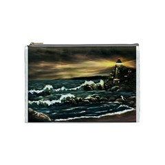 bridget s Lighthouse   By Ave Hurley Of Artrevu   Cosmetic Bag (medium)