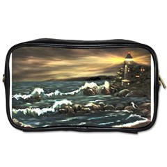 Bridget s Lighthouse   by Ave Hurley of ArtRevu ~ Toiletries Bag (One Side)