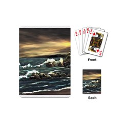 Bridget s Lighthouse   by Ave Hurley of ArtRevu ~ Playing Cards (Mini)