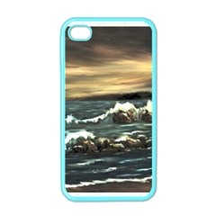 Bridget s Lighthouse   by Ave Hurley of ArtRevu ~ Apple iPhone 4 Case (Color)
