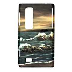 Bridget s Lighthouse   by Ave Hurley of ArtRevu ~ LG Optimus Thrill 4G P925 Hardshell Case