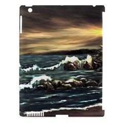 Bridget s Lighthouse   by Ave Hurley of ArtRevu ~ Apple iPad 3/4 Hardshell Case (Compatible with Smart Cover)