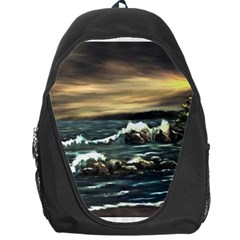 Bridget s Lighthouse   by Ave Hurley of ArtRevu ~ Backpack Bag