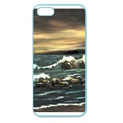bridget s Lighthouse   By Ave Hurley Of Artrevu   Apple Seamless Iphone 5 Case (color)