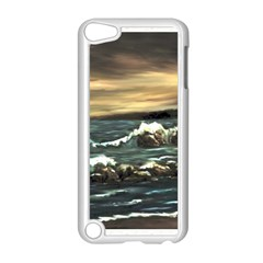 Bridget s Lighthouse   by Ave Hurley of ArtRevu ~ Apple iPod Touch 5 Case (White)