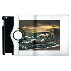 Bridget s Lighthouse   by Ave Hurley of ArtRevu ~ Apple iPad 2 Flip 360 Case