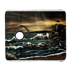 Bridget s Lighthouse   by Ave Hurley of ArtRevu ~ Samsung Galaxy S  III Flip 360 Case