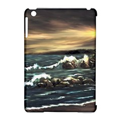 Bridget s Lighthouse   by Ave Hurley of ArtRevu ~ Apple iPad Mini Hardshell Case (Compatible with Smart Cover)