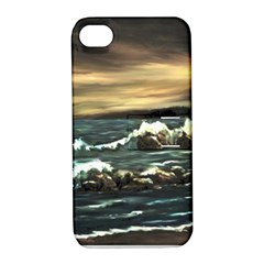 Bridget s Lighthouse   by Ave Hurley of ArtRevu ~ Apple iPhone 4/4S Hardshell Case with Stand