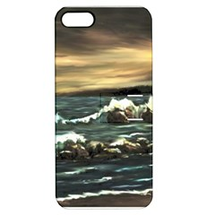 Bridget s Lighthouse   by Ave Hurley of ArtRevu ~ Apple iPhone 5 Hardshell Case with Stand