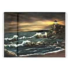 Bridget s Lighthouse   by Ave Hurley of ArtRevu ~ Samsung Galaxy Tab 10.1  P7500 Flip Case