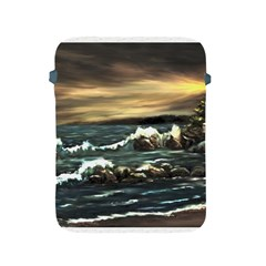 Bridget s Lighthouse   by Ave Hurley of ArtRevu ~ Apple iPad 2/3/4 Protective Soft Case