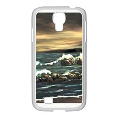 Bridget s Lighthouse   by Ave Hurley of ArtRevu ~ Samsung GALAXY S4 I9500/ I9505 Case (White)
