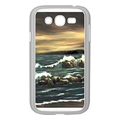 bridget s Lighthouse   By Ave Hurley Of Artrevu   Samsung Galaxy Grand Duos I9082 Case (white)