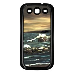 Bridget s Lighthouse   by Ave Hurley of ArtRevu ~ Samsung Galaxy S3 Back Case (Black)