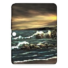 Bridget s Lighthouse   by Ave Hurley of ArtRevu ~ Samsung Galaxy Tab 3 (10.1 ) P5200 Hardshell Case