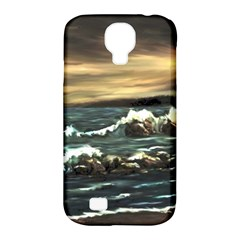 Bridget s Lighthouse   by Ave Hurley of ArtRevu ~ Samsung Galaxy S4 Classic Hardshell Case (PC+Silicone)